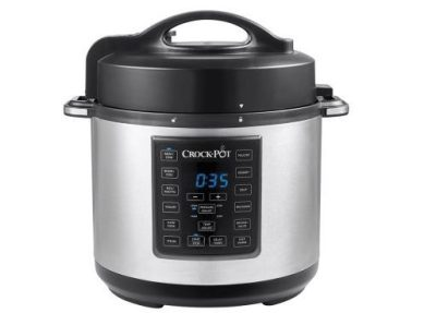 Crock-Pot 6-Quart 8-in-1 Express Crock Programmable Slow Cooker $49.99