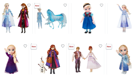 Frozen Dolls and Toys 50% Off At JCPenney!!