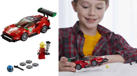 LEGO Speed Champions Ferrari Building Kit for ONLY $9.99 at Amazon (Regularly $15)