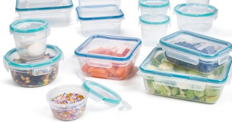 Lock n Lock 24-Piece Food Storage Set Just $15.98 at Macy's