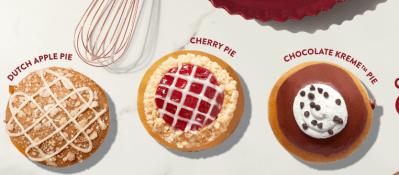 Krispy Kreme: FREE Pie-Inspired Doughnut (November 5th)