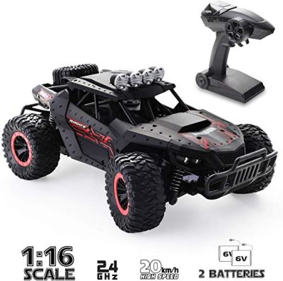 Remote Control Car Off-Road RC Trucks 2.4 GHz with 2 Rechargeable Batteries for $21.49 w/code