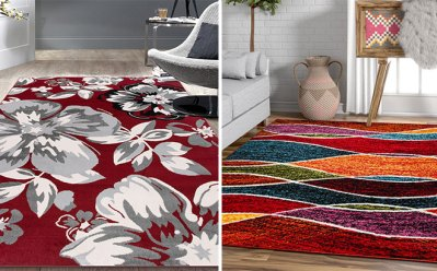 Zulily : up to 80% off Roll Out 5' x 7' Rug Steals !!