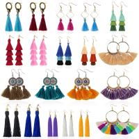 Amazon : 20 Pairs Colorful Bohemian Long Layered Fringe Earrings Set Just $8.92 W/Code  (Reg : $17.88) (As of 12/08/2019 4.30 PM CST)
