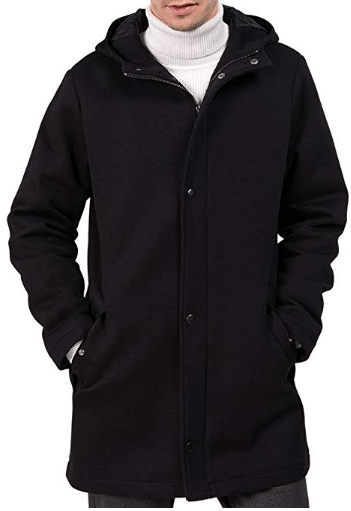 Amazon : Men's Winter Thicken Warm Trench Coat Just $35.99 W/Code (Reg : $119.99) (As of 12/09/2019 10.03 AM CST)