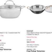Macy's : Cookware Cuisinart Sale !