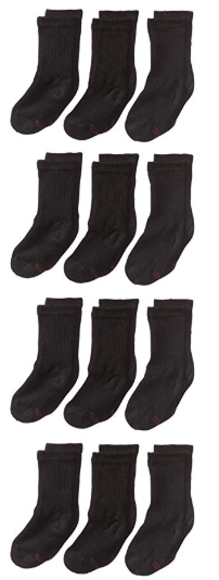 Amazon : Hanes Ultimate Boys' Big 12-Pack Crew Socks Just $2.50 (Reg : $9.49) (As of 12/12/2019 12.15 PM CST)