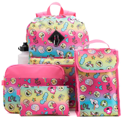 Kohl's : **78%**Kids Backpack, Lunch Bag, Tablet Case, Pencil Case & Water Bottle Set W/Code!