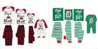 Amazon : Letter Printed Long Sleeve Tops Green Striped Pajamas Pant Set Just $3.94 - $4.99 W/Code (Reg : $7.88-9.99) (As of 12/18/2019 5.45 AM CST)