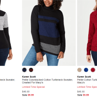 Macy's : Limited-Time Special Sweaters!