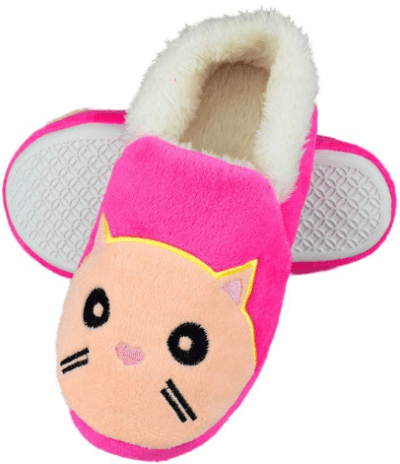 Amazon : Little/Big Kids Warm Plush Cat Slippers Just $9.99 W/Code (Reg : $24.99) (As of 12/12/2019 9.43 PM CST)