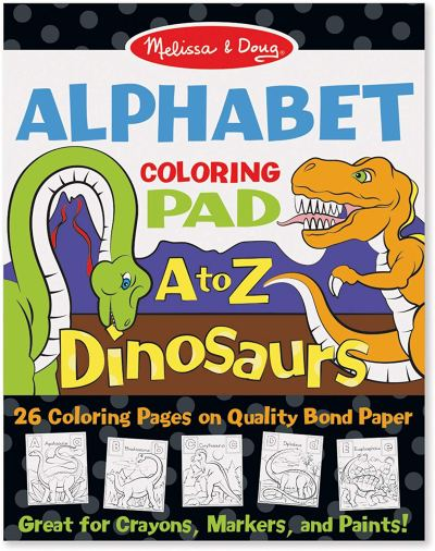 Amazon : Melissa & Doug 26-Page Animal Alphabet Coloring 11 x 14 Pads, Multicolor Just $2.99 (As of 12/12/2019 9.12 PM CST)