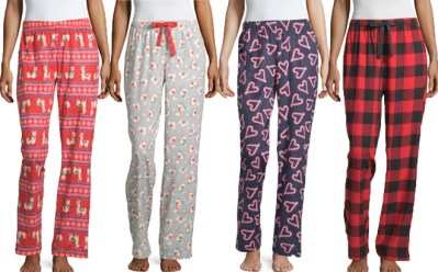 Pajama Sets and Pants Starting at ONLY $5 at JCPenney (Regularly $24) – Cyber Deal!