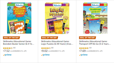 Amazon : Save 30% on Educational Toys, Art & Craft Kits for Kids (As of 12/22/2019 7.10 PM CST)