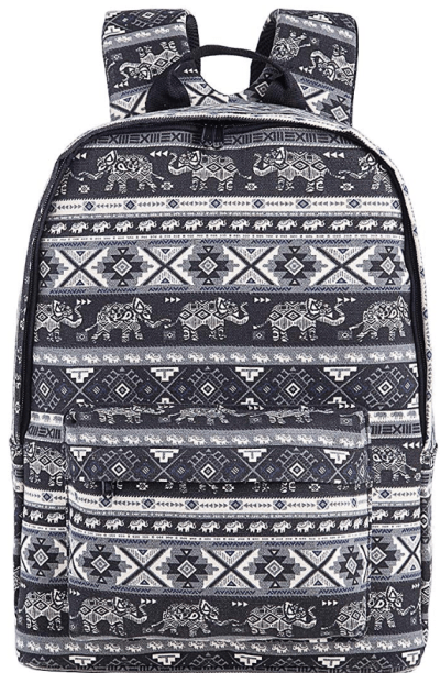 Amazon : Stylish Canvas Book Bag Just AS LOW AS $10.50 W/Code (Reg : $34.99) (As of 12/03/2019 4.42 PM CST)