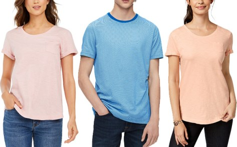 Women's and Men's Apparel Extra 30% Off at Macy's (T-Shirts Starting at JUST $6!)