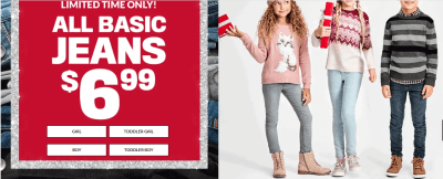 The Children's Place : Jeans as Low as $5.32 Shipped (Reg : up to $20)