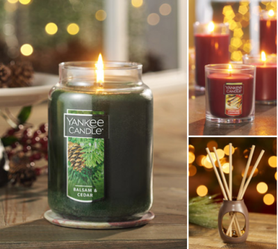 Yankee Candle : 5 FOR $60: LARGE CLASSIC JAR & TUMBLER CANDLES!