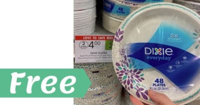 Dixie Plates or Bowls for Free at Publix!