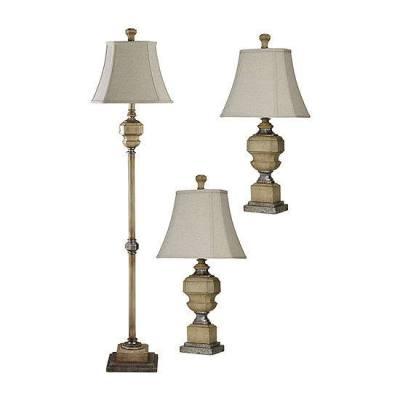 Stylecraft Florentine 3-pc. Lamp Set for $89.59 (reg: $320) w/code
