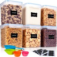 6 Pieces BPA Free Food Storage Containers 2.5L / 84.5oz for $14.99 w/code