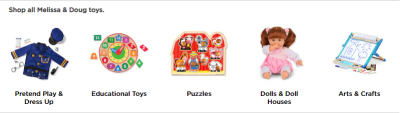 Kohl's : Melissa and Doug Toys are 20% off + another 20% off applied in cart!