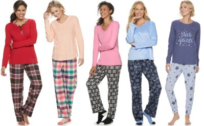 Kohl's : Women's Pajama Sets Just $13.99 + FREE Shipping (Reg : $40) – Today Only!