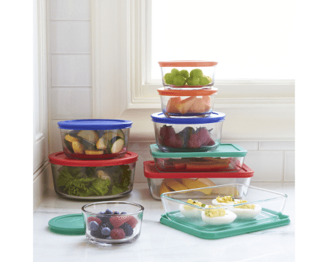 Pyrex 18-Piece Storage Set for ONLY $19.99 + FREE Shipping at JCPenney (Reg $78)