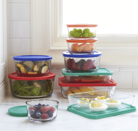 Pyrex 18-pc. Storage Set for $19.99 after rebate