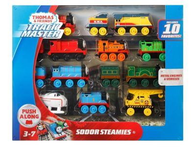 Thomas & Friends TrackMaster Sodor Steamies Train Engines Set for $27.42 (Reg $34.73)