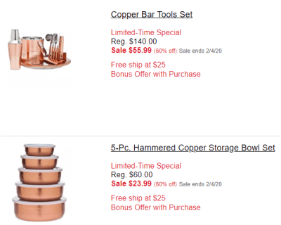 Macy's : Godinger Copper Serveware Collection Sale!