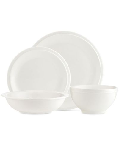 MACY'S: Godinger Chaddsford 16-Pc. Dinnerware Set, Service for 4, JUST $48.00 (Reg $160.00) with code FLASH