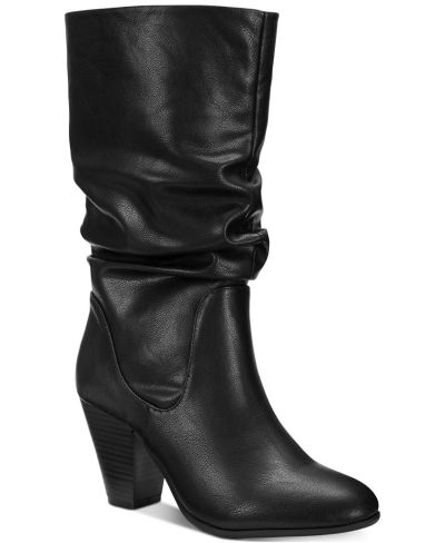 MACY'S: Esprit Oliana Memory-Foam Mid-Shaft Boots, Just $28.48 (Reg $89.00) with code WINTER