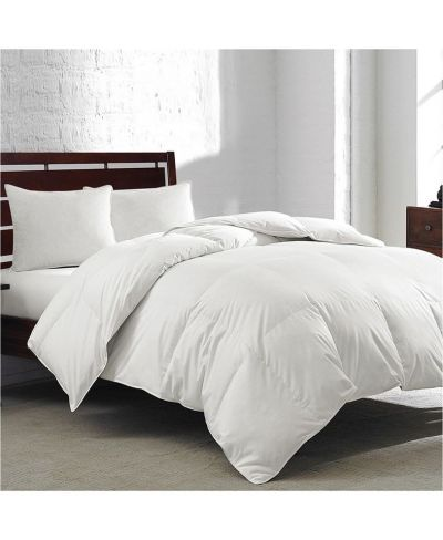 MACY'S: Royal Luxe White Goose Feather & Down 240-Thread Count King Comforter, JUST $57.99 (Reg $200.00)