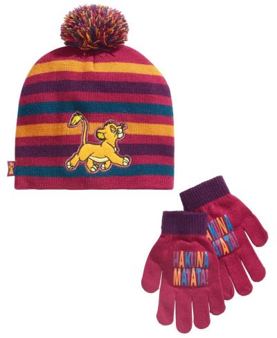 MACY'S: Disney Big Girls 2-Pc. The Lion King Hat & Gloves Set, JUST $10.00 (Reg $25.00)
