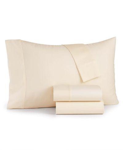 MACY'S: Sunham Bari 4-Pc. Queen Sheet Set, 350 Thread Count Cotton Blend, JUST $31.99 - $35.99 (Reg $120.00) with code YAY