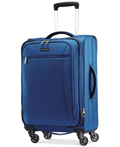 """MACY'S: Samsonite X-Tralight 21"""" Softside Carry-On Spinner, JUST $77.34 (Reg $260.00) with code YAY"""