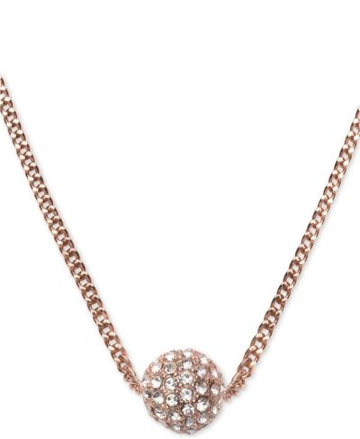 """MACY'S: Givenchy Crystal Fireball 16"""" Pendant Necklace, JUST $21.00 (Reg $28.00) with code YAY"""