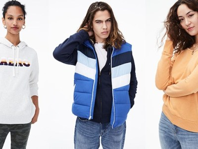 Aeropostale Apparel for Up to 85% Off (Hoodies and Jackets From $4.89!)
