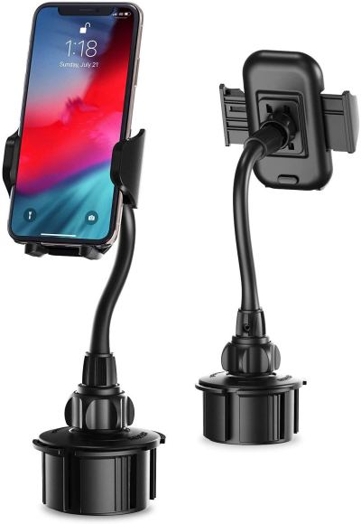 Amazon : Car Cup Holder Phone Mount Just $6.94 W/Code + Lightening Deal + 5% Off Coupon (Reg : $28.99) (As of 1/22/2020 8.36 PM CST)