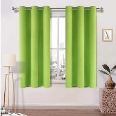 Amazon : Green Blackout Curtains Just $16.49 W/Code (Reg : $16.99-51.99) (As of 1/27/2020 1.19 PM CST)