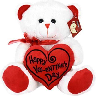 Amazon : Happy Valentine's Day Stuffed Teddy Bear Just $5.13 W/Code (Reg : $13.49) (As of 1/13/2020 3.20 PM CST)