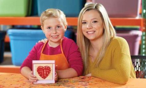 FREE Heart String Art Workshop For Kids at Home Depot on February 1st