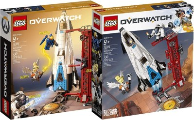 WALMART: LEGO Overwatch Gibraltar Building Kit for ONLY $52.99 + FREE Shipping (Reg $90)
