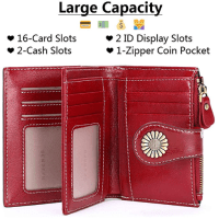 Amazon : Leather Bifold Purse with ID Window Just $3.99 W/Code (Reg : $19.99) (As of 1/25/2020 11.12 PM CST)