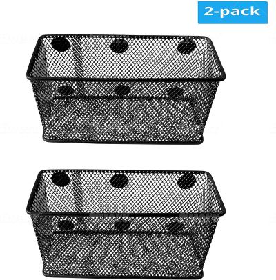 Amazon : Magnetic Basket Set of 2 Just $5.50 W/75% Off (Reg : $21.99) (As of 1/22/2020 10.30 AM CST)