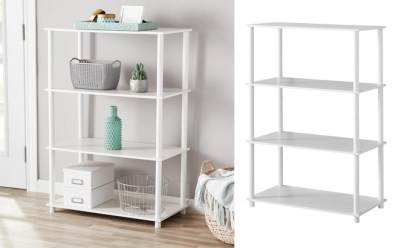 Walmart : Mainstays 'No Tools' Storage Bookshelf Just $16.50 + FREE Pickup (Reg : $25)