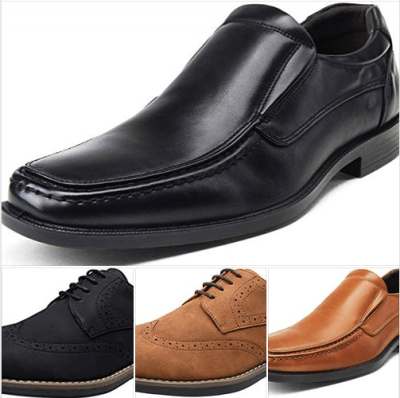 Amazon : Men's Oxford Cap Toe Formal Lace up Dress Shoes Just $10.23-11.99 W/Code + 10% Off (Reg : $25.59-29.99) (As of 1/22/2020 10.20 AM CST)