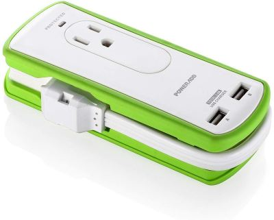 Amazon : Mini Portable Travel Surge Protector Power Strip 2 Outlets with Dual USB Ports Just $11.99 W/Code + $ 2 Off Coupon (Reg : $25.99) (As of 1/16/2020 5.30 PM CST)