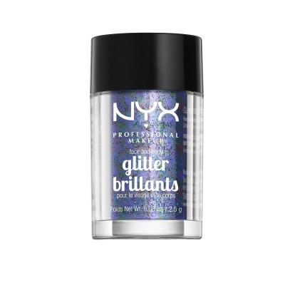 Amazon : NYX PROFESSIONAL MAKEUP Face & Body Glitter, Violet Just $1.4 (Reg : $6.50) (As of 1/22/2020 5 PM CST)